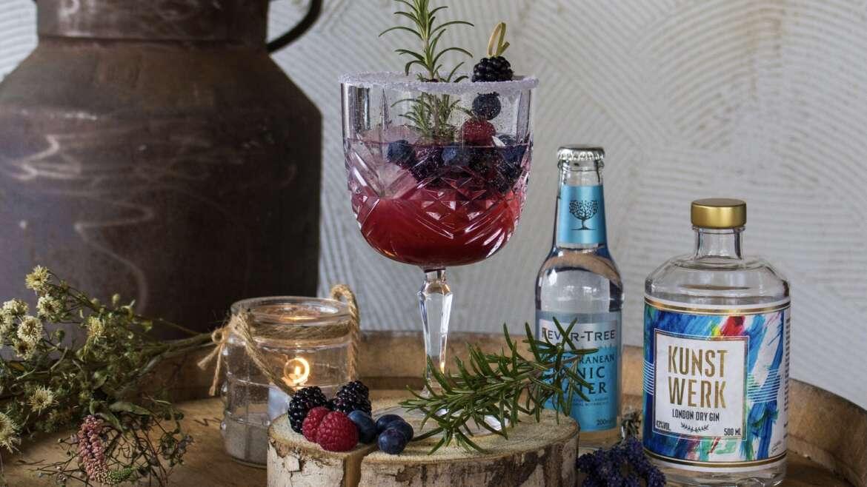 Waldbeeren-Gin